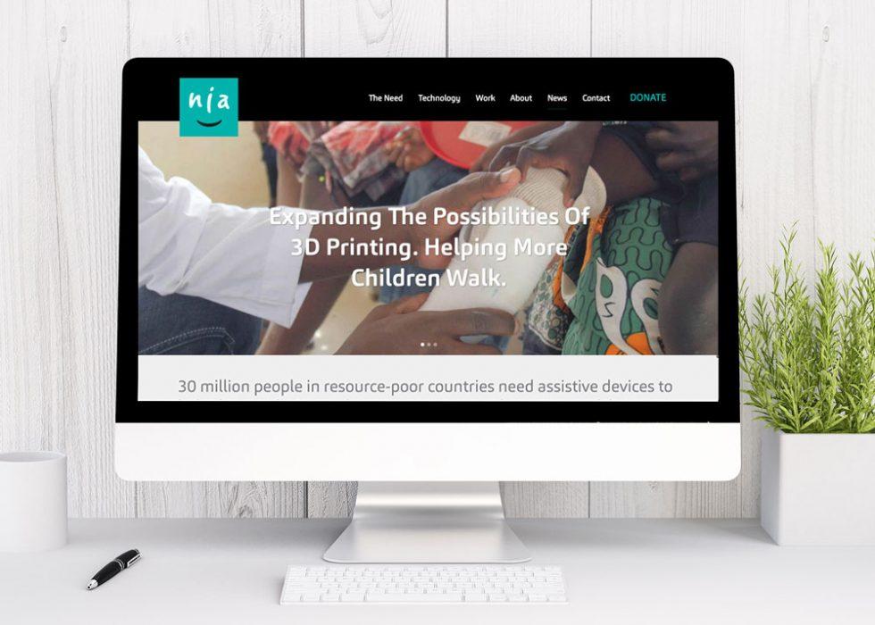 Copywriting sample - Website copy for non-profit