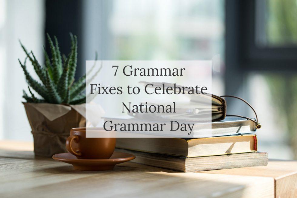 Blog post - Common grammar mistakes
