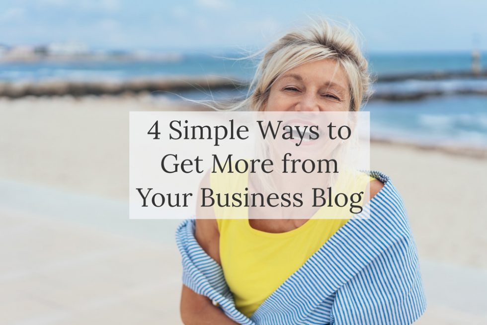 Blog post - How to get more from your business blog