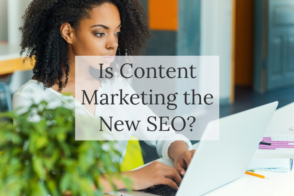 Blog post - What's the difference between SEO and content marketing?