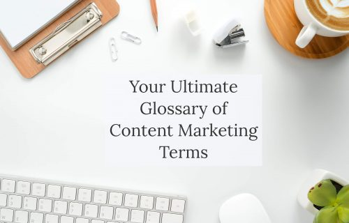 Blog post - Glossary of Content Marketing Terms