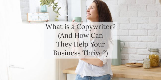 Blog post - What is a copywriter?