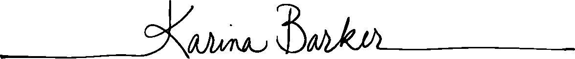 Karina Barker - small logo