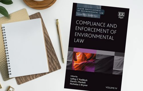 Writing sample - Chapter in environmental law book