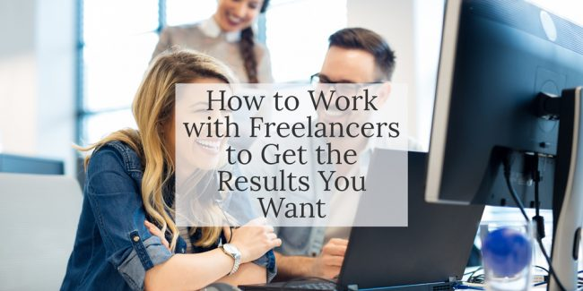 Blog post - How to work with freelance copywriters