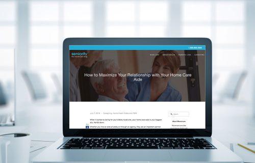 Blog writing sample - Healthcare company