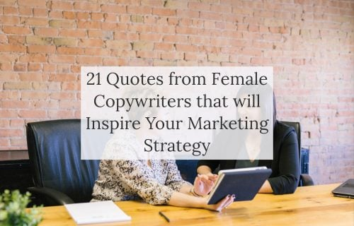 Blog Post - Quotes from Female Copywriters