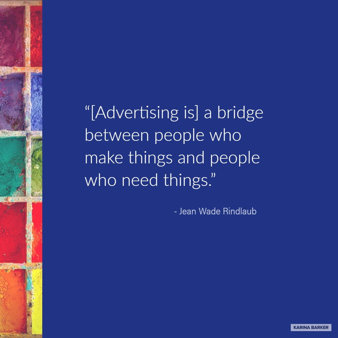 Copywriting Quote - Jean Wade Rindlaub